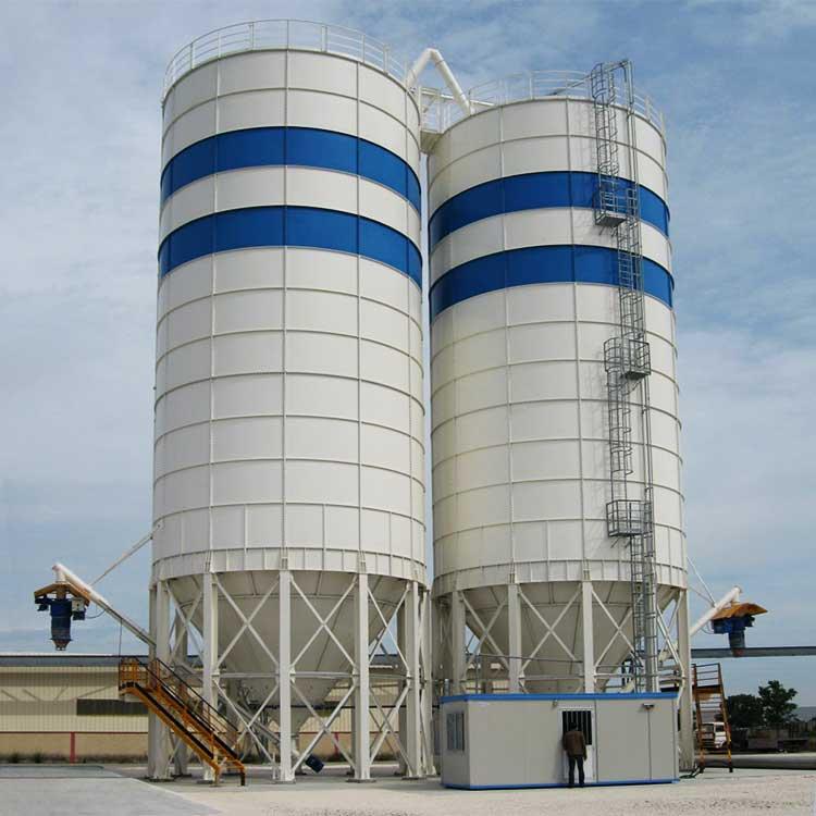 Panelopbygget silo SP serie